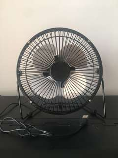 USB Fan Black