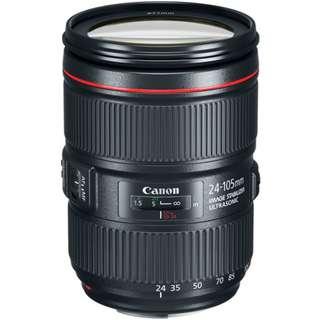 EF 24-105mm f/4L IS II USM Lens Canon