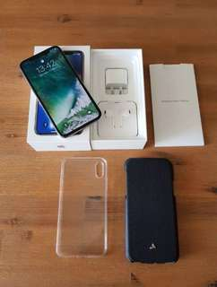 iPhone X 256gb Silver - GREAT CONDITION