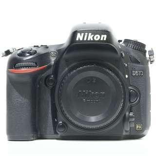 Nikon D610 DSLR Body Only (SC: 75k)