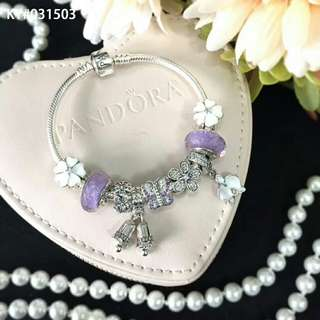 Pandora Bracelet S925 Original + Package with beads
