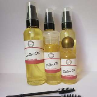 Castor Oil 50ml + Mascara wand