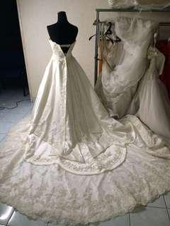 gaun pengantin prewed wedding