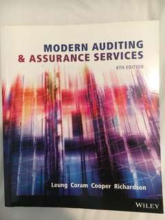 Modern Auditing & Assurance Services 9781118615249 6th Edition