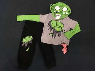 Zombie or Monster Costume for boys (3T)