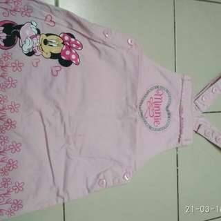 Overall anak Minnie mouse