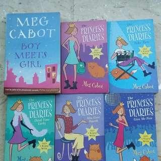 Story books by Meg Cabot
