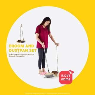 Home broom and dustpan set