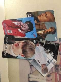 Wanna One,BTS,BtoB yes cards