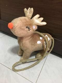 Cotton On Reindeer Sling bag for kids
