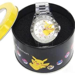 🇯🇵*限量* 全新 來自日本Toreba Pokemon Sun & Moon watches 寵物小精靈 成人小童手錶 Pikachu 比卡超