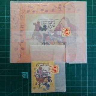 1979 多明尼加 迪士尼郵票