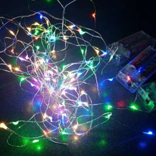 Multi coloured LED Fairy Light