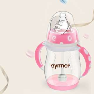 Botol Susu AYNMER 210 ML (Pink)