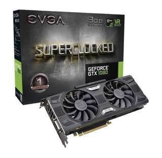BN GTX 1080 8GB SC EVGA GeForce
