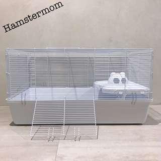 INSTOCK Syrian Hamster Alaska Cage 84cm Full White
