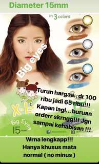 Softlens korea big eyes