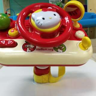 Hello Kitty Steering toy for stroller and high chair