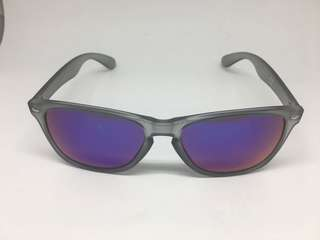 State of Wow Blue & Purple Reflective Translucent Grey Sunglasses
