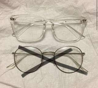 clear non prescription glasses
