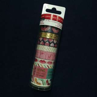 Recollections Saint Valentin washi tape tube for planner, journals, scrapbook