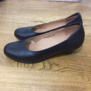 RinRin正式黑色皮鞋 #換季五折
