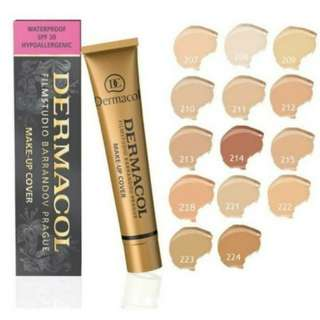 ReadyStock dermacol foundation
