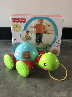 Fisher Price Pull Along Turtle (Not Lamaze / Melissa and Doug / Leap Frog / walker / rocker)