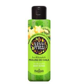 tutti frutty kiwi & carambola body scrub 100ml