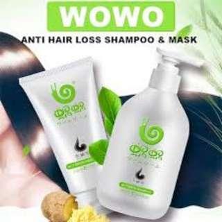 Wowo shampoo & hair mask!