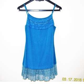 Blue sexy dress/top