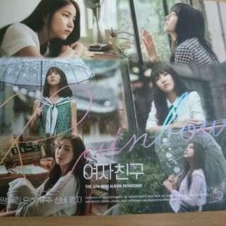 Gfriend Rainbow 5th mini album repackage