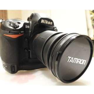 NIkon D3 with lens