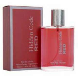 Hidden Code Red Eau De Toilette Perfume for Men 100ml