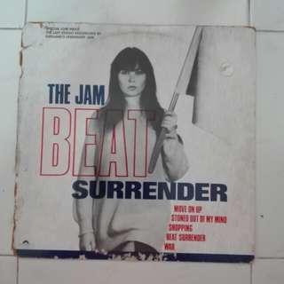 The Jam beat surrender vinyl LP