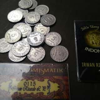Uang lama / Uang kuno 5 rupiah