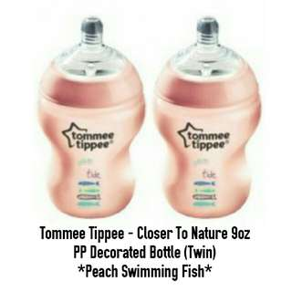 Tommee Tippee 9oz Bottles Twin Pack