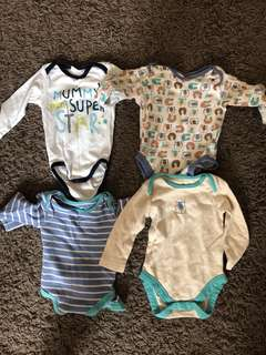 Baby Clothes baby long sleeve bodysuits 6 months
