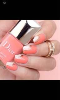 Dior Nail Polish in Maybe