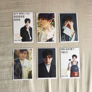 Super Junior Unofficial Cards