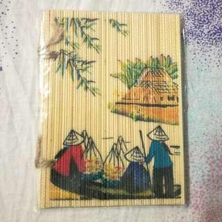 Handmade Bamboo 竹製特色筆記簿