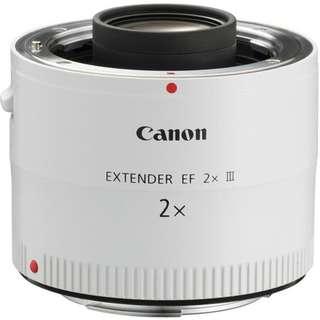 Extender EF 2X III Canon