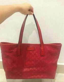 Gucci GG imprime shoulder tote bag