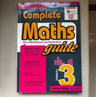 Complete Maths Guide Primary 3