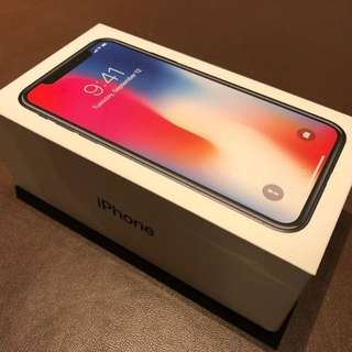 Apple iPhone x unlocked and Sealed