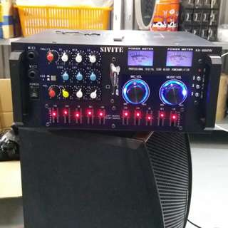 Brand New medium size Karaoke Amplifier