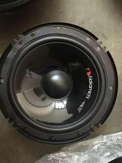 "Nakamichi japan 6"" 320w component car speaker"