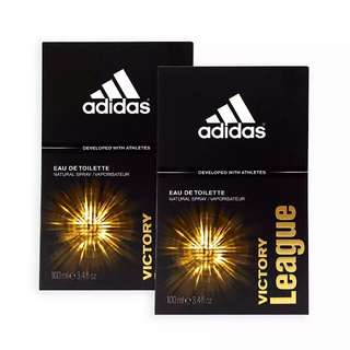 Adidas MEN EDT - Victory League EDT Perfume 100ml - 2Pack