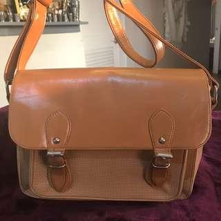 Parisian: Faux Leather Sling Bag