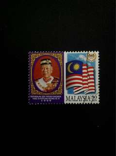 Malaysia 1999 Installation of His Majesty the XI Yang DiPertuan Agong 30c Used (0341)